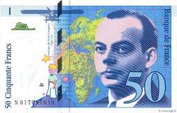 50 Francs SAINT-EXUPÉRY modifié FRANCE  1994 F.73.01a NEUF