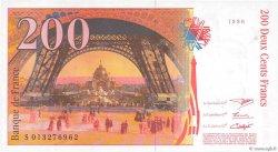 200 Francs EIFFEL sans STRAP FRANCE  1996 F.75bis.02 pr.NEUF