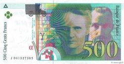 500 Francs PIERRE ET MARIE CURIE sans STRAP FRANCE  1998 F.76qua.04 NEUF