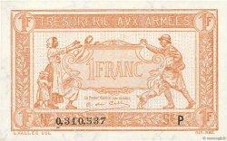 1 Franc TRÉSORERIE AUX ARMÉES FRANCE  1919 VF.04.03 NEUF