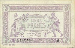 2 Francs TRÉSORERIE AUX ARMÉES FRANCE  1917 VF.05.01 SUP