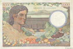 1000 Francs Algérie FRANCE  1943 VF.10.01 pr.SUP