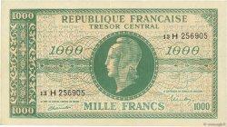 1000 Francs MARIANNE FRANCE  1945 VF.13.03x SUP
