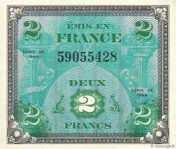 2 Francs DRAPEAU FRANCE  1944 VF.16.01 pr.NEUF