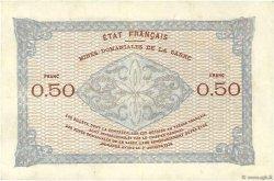 50 Centimes MINES DOMANIALES DE LA SARRE FRANCE  1919 VF.50.01 pr.SUP