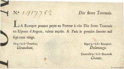 10 Livres Tournois typographié FRANCE  1720 Dor.21 TTB+