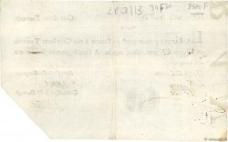 100 Livres Tournois typographié FRANCE  1720 Dor.27a TTB