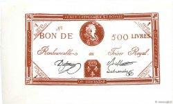 500 Livres FRANCE  1794 Laf.278 NEUF