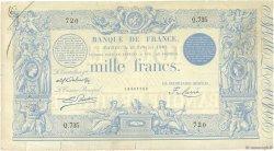 1000 Francs type 1862 Indices Noirs modifié FRANCE  1887 F.A50.07 TTB