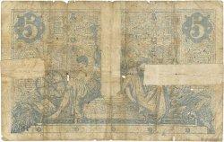 5 Francs NOIR FRANCE  1872 F.01.02 B