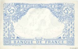 5 Francs BLEU lion inversé FRANCE  1916 F.02bis.04 SUP
