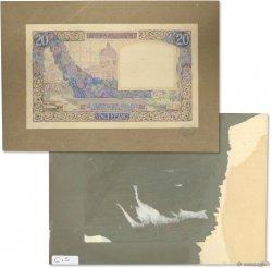 20 Francs SCIENCE ET TRAVAIL FRANCE  1922 F.12.- SUP