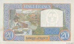 20 Francs SCIENCE ET TRAVAIL FRANCE  1940 F.12.08 SUP