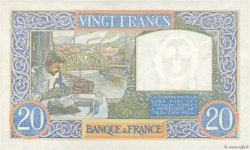 20 Francs SCIENCE ET TRAVAIL FRANCE  1940 F.12.09 SPL+