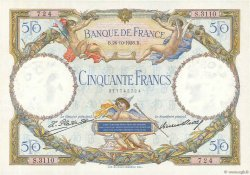 50 Francs LUC OLIVIER MERSON FRANCE  1928 F.15.02 SUP+