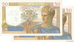 50 Francs CÉRÈS modifié FRANCE  1937 F.18.02 NEUF