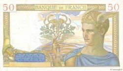 50 Francs CÉRÈS modifié FRANCE  1939 F.18.28 pr.SUP