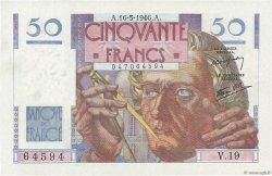50 Francs LE VERRIER FRANCE  1946 F.20.04 NEUF