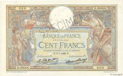 100 Francs LUC OLIVIER MERSON grands cartouches FRANCE  1926 F.24.00s1 SPL