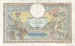 100 Francs LUC OLIVIER MERSON grands cartouches FRANCE  1923 F.24.01 B+