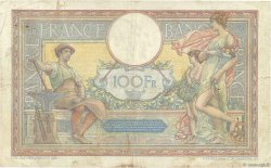 100 Francs LUC OLIVIER MERSON grands cartouches FRANCE  1923 F.24.01 B