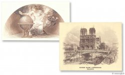 100 Francs ABNC vignettes FRANCE  1917 F.- NEUF