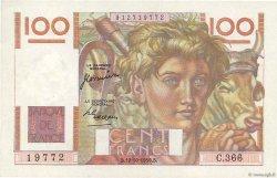 100 Francs JEUNE PAYSAN FRANCE  1950 F.28.27 SPL