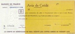 XX Francs Avis de Crédit FRANCE  1930 F.- NEUF