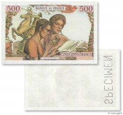 500 Francs JEUNESSE FRANCE  1945 F.- NEUF