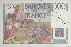 500 Francs CHATEAUBRIAND FRANCE  1945 F.34.00 pr.NEUF