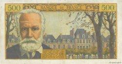 500 Francs VICTOR HUGO FRANCE  1957 F.35.07 TTB+