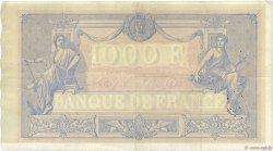 1000 Francs BLEU ET ROSE FRANCE  1890 F.36.02 TTB+