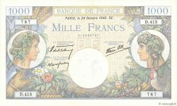1000 Francs COMMERCE ET INDUSTRIE FRANCE  1940 F.39.01 pr.NEUF