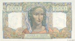 1000 Francs MINERVE ET HERCULE FRANCE  1945 F.41.01 pr.SPL