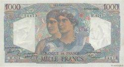 1000 Francs MINERVE ET HERCULE FRANCE  1949 F.41.30 SPL