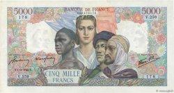 5000 Francs EMPIRE FRANÇAIS FRANCE  1945 F.47.11 SUP+