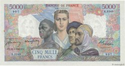 5000 Francs EMPIRE FRANÇAIS FRANCE  1947 F.47.59 pr.SPL