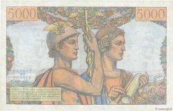 5000 Francs TERRE ET MER FRANCE  1951 F.48.05 pr.SPL