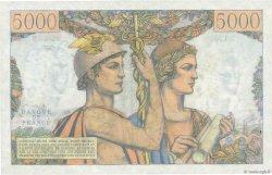 5000 Francs TERRE ET MER FRANCE  1953 F.48.08 pr.SPL