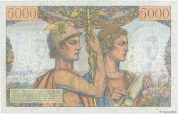 5000 Francs TERRE ET MER FRANCE  1953 F.48.09 SUP+