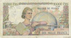 10000 Francs GÉNIE FRANÇAIS FRANCE  1947 F.50.18 B