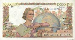 10000 Francs GÉNIE FRANÇAIS FRANCE  1951 F.50.55 TTB+