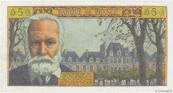 5 Nouveaux Francs VICTOR HUGO FRANCE  1960 F.56.05 SPL