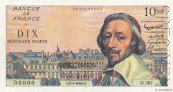 10 Nouveaux Francs RICHELIEU FRANCE  1959 F.57.00 pr.NEUF