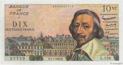 10 Nouveaux Francs RICHELIEU FRANCE  1961 F.57.13 SUP