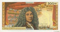 500 Nouveaux Francs MOLIÈRE FRANCE  1963 F.60.05 TTB