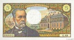 5 Francs PASTEUR FRANCE  1967 F.61.06 pr.SPL