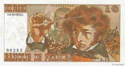 10 Francs BERLIOZ sans signatures FRANCE  1978 F.63bis.01 SUP