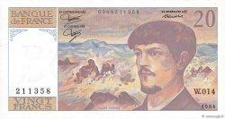 20 Francs DEBUSSY FRANCE  1980 F.66.05 pr.NEUF