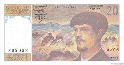 20 Francs DEBUSSY FRANCE  1986 F.66.07 pr.SPL